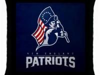 NEW ENGLAND PATRIOTS NFL THROW PILLOW CASE $14.99