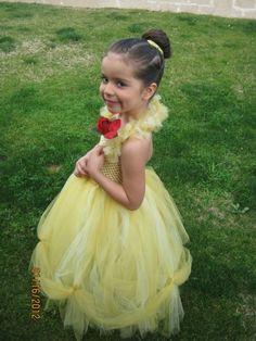 Disney Inspired Tutu Dress..Belle $40.00