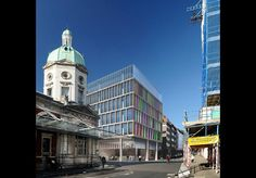 Plans: PLP Architecture's Farringdon Crossrail over-station development project in the City of London.