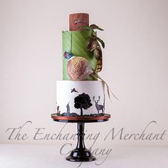 Pheasant Hunting theme cake - Cake by The Enchanting Merchant Company