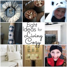 8 Ideas for Living Cozy this Winter! - All Things Heart and Home