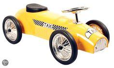 Metalen Loopauto Taxi