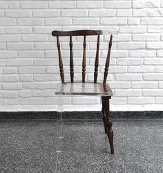 "Artist ""Fixes"" Broken Wood Furniture With Translucent Materials"