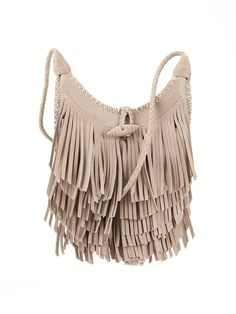 V by Very's fringed bag works with all your new-season faves to create a portfolio of festival-worthy looks. Tiers of bohemian fringing lend laid-back appeal to the slouchy silhouette, while whipstitching and braided straps add to the hippie vibe.