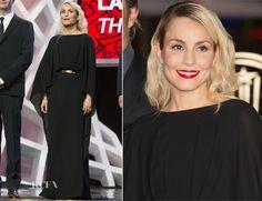 Noomi Rapace In Elie Saab – 'Waltz for Monica' Marrakech Film Festival Premiere