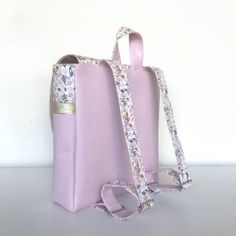 patron cartable sac a dos prems (31) Notions De Couture, Satchel Backpack, Small Notebook, Sewing, Boss