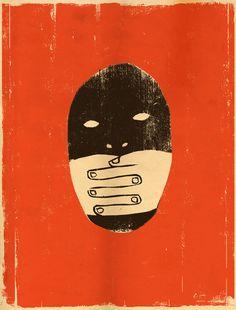 Edel Rodriguez illustrated Art