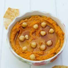 Sun-Dried Tomato Hummus (good! kd)