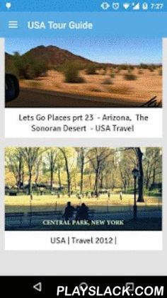 USA Travel Attractions  Android App - playslack.com , United States of America Travel attractions and top destinations. Videos from YouTube showing tourist attractions of USA. This is obviously the best way to plan your vacation activities in USA with the wonderful ideas people share to you in these videos. This will help you to prepare your vacation packing lists while your children are busy waiting with the vacation countdown. It is always difficult find some good vacation villas for your…