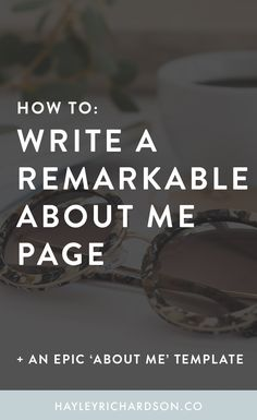 Want to know how to write a remarkable About Me page? This epic post shares the secret ingredients that the best About Me pages use. Click through to find out how. How To Start A Blog, How To Find Out, Business Tips, Online Business, About Me Template, About Me Page, Finding A Hobby, Copywriting, Career Advice