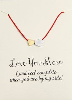 2lisasboutique - Love You More - Heart Red Silk Cord Necklace, $15.00 (http://www.2lisasboutique.com/love-you-more-heart-red-silk-cord-necklace/)