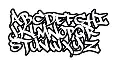 The best graffiti letters ABC Graffiti Text, Graffiti Lettering Alphabet, Graffiti Kunst, Tattoo Fonts Alphabet, Best Graffiti, Graffiti Drawing, Doodle Lettering, Grafitti Letters, Doodle Fonts