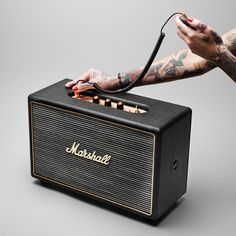 Marshall Hanwell portable speaker
