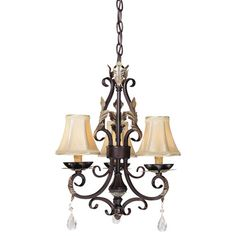 Distressed Silver Five Light Mini Chandelier Minka Lavery Candles Without Shades Chandeli