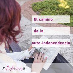 """Hoy toca recomendación literaria, concretamente de Jorge Bucay 📚 A partir del libro """"El camino de la auto-independencia"""" trataremos los conceptos de dependencia, independencia y co-dependencia. ¡Espero que os resulte interesante! #mypsicologa"""