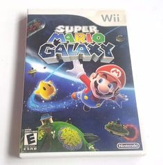 Nintendo Wii Complete Game SUPER MARIO GALAXY Collect 120 Stars in 4 Galaxies