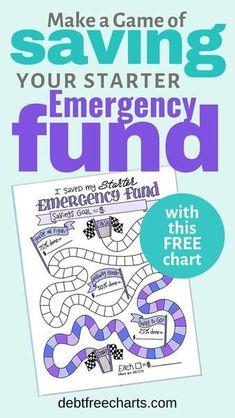 I Saved my Starter Emergency Fund - Finance tips, saving money, budgeting planner Savings Chart, Savings Plan, Retirement Savings, Savings Challenge, Saving Tips, Saving Money, Money Savers, Saving Ideas, I Wish You Well