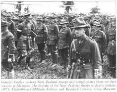 Military Archives, Nz History, Troops, Soldiers, Major General, Lest We Forget, World War One, New Zealand, Army