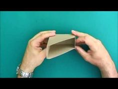 ▶ Making a magazine file for Field Notes and Moleskine booklets - YouTube