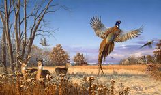 zachwildlifeart.com | Sportsman's Dream | Larry Zach Wildlife Art