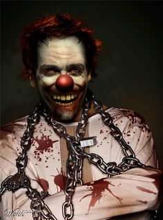 Evil Celebrity Clowns 3 - Worth1000 Contests.    Jake Gyllenhaal
