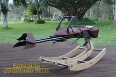 Rocking Speeder Bike Baby Star Wars Rocking Horse DIY