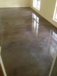 Reflector Epoxy Floor Lafayette La   Stained Concrete, Lafayette, La