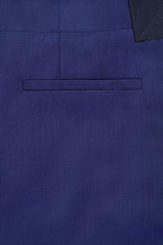 COS image 5 of Trousers with belt detail in Cobalt