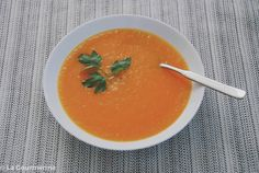Karotten-Ingwer-Suppe / soup with carrots and ginger
