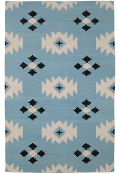 Project Nursery - Cotton Rug from The Rug Company