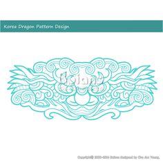 한국의 용 문양 패턴디자인. 한국 전통문양 패턴 디자인 시리즈. (BPTD010027) Korea Dragon Pattern Design. Korean traditional Pattern Design Series. Copyrightⓒ2000-2014 Boians.com designed by Cho Joo Young.