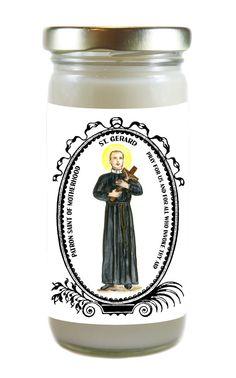 Saint Gerard Patron of Motherhood 8 Ounce by TouchedByTheSaints