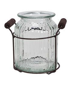 Look at this #zulilyfind! Small Wire Stand Jar #zulilyfinds