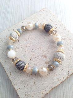 Boho Bracelets,Bead Bracelets,Glass Bead Bracelets,Grey Beaded Bracelets,Multi Grey Bead Bracelets,Boho Bead Bracelets,Multi Bead Bracelets