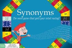 Amazon.com: Synonyms- The Word Game That Gets Your Mind Racing!: Toys & Games