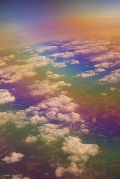 ~~From the sky | cloudscape with rainbow colors | by M. Llorens~~