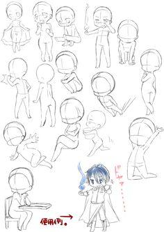 Dibujo chibis anime poses Zeichnen von Chibis-Anime-Posen The post Zeichnen von Chibis-Anime-Posen appeared first on Frisuren Tips - People Drawing Anime Drawings Sketches, Illustration Sketches, Art Drawings, Chibi Sketch, Anime Sketch, Drawing Base, Manga Drawing, Chibi Drawing, Digital Art Beginner