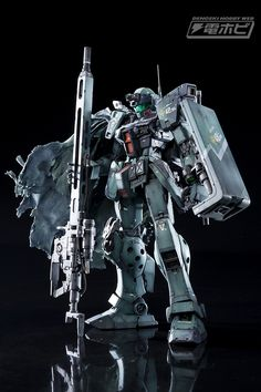 Custom Build: MG 1/100 GM Sniper II [DENGEKI HOBBY] - Gundam Kits Collection News and Reviews