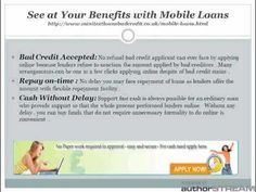 Mini Text Loans Bad Credit