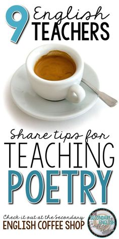 Looking for ideas for teaching poetry? The Secondary English Coffee Shop teachers share their best tips and strategies on the latest blog post. Pull up a chair and join the conversation!