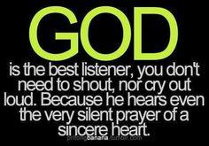 my faith in HIM.....