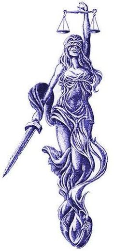 Image result for lady justice tattoo