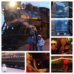How fun! @Kerri G and her children LOVED their ride on New Hope & Ivyland Railroad's North Pole Express.