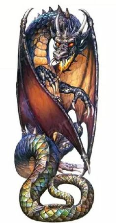Photo of Dragon for fans of Fantasy 26034496 Dragon Tattoos For Men, Japanese Dragon Tattoos, Dragon Tattoo Designs, Fantasy Creatures, Mythical Creatures, Dark Fantasy, Fantasy Art, Art Vampire, Dragon Illustration