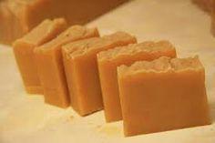 Fresh honey and hazel soap