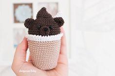 Amigurumi creamy choco bear - Free crochet pattern