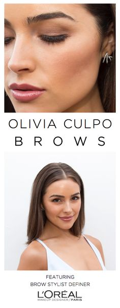 Brow goals on Olivia Culpo. Get the look with Brow Stylist Definer pencil for bold, natural-looking brows.
