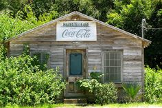 {Hazel's Cafe - St. Simons Island, GA} This is SUCH a neat spot on SSI! The outside looks like the original cafe that it was but the inside is completely redone and decked in UGA decor.