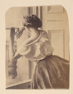 """1860s """"Photographic Study"""""""