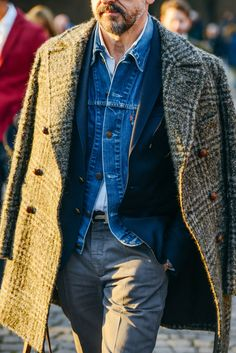 Tommy Ton Shoots the Best Street Style at the Couture Shows menswear, men's fashion and style